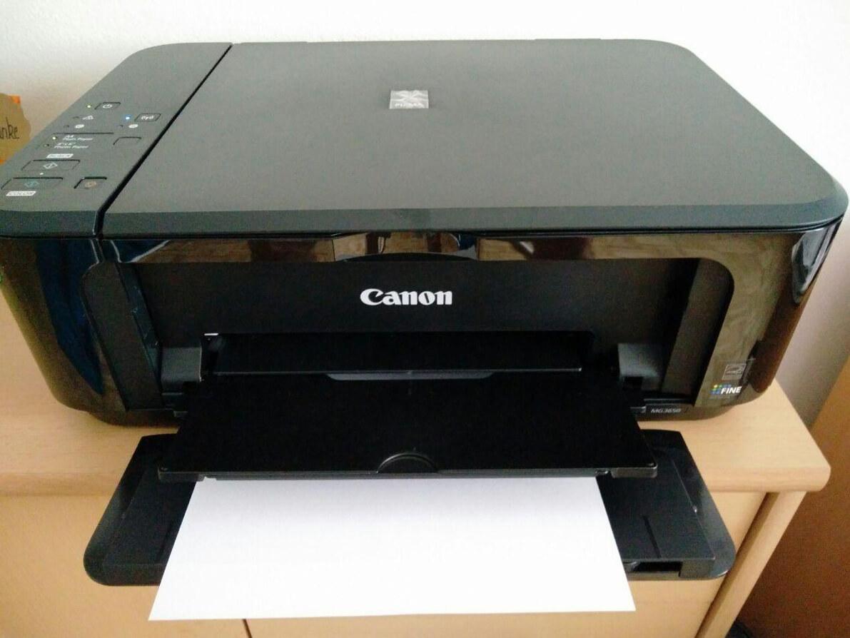canon pixma mg3650 test 3 in 1 tintenstrahldrucker zum. Black Bedroom Furniture Sets. Home Design Ideas