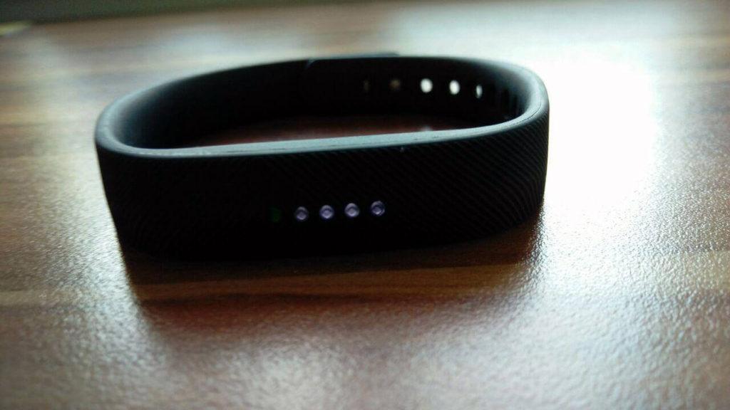 LED Anzeige im Fitbit Flex 2 Test