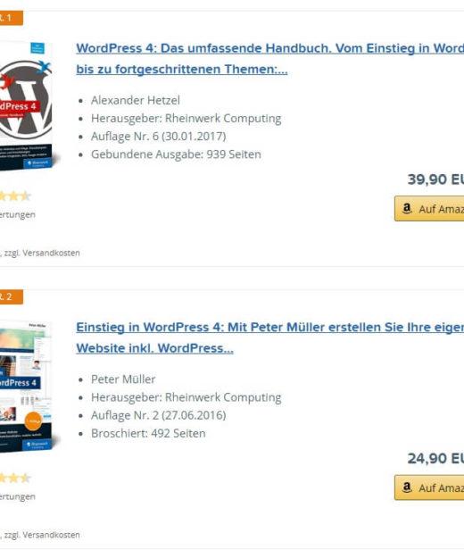 AAWP Wordpress Plugin Test