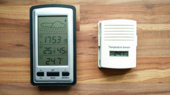 Die beiden Module im Elegiant Wetterstation Test