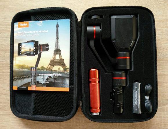 Rollei Profi Smartphone Gimbal Set