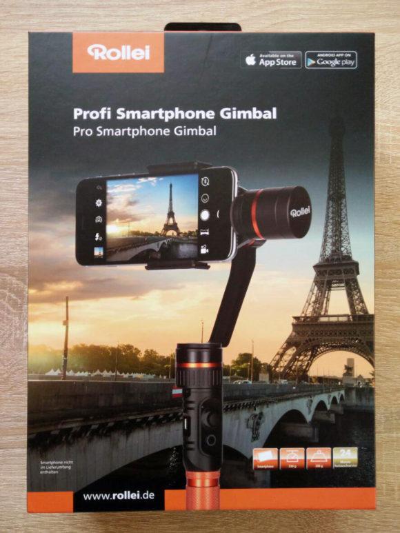 Rollei Profi Smartphone Gimbal Test