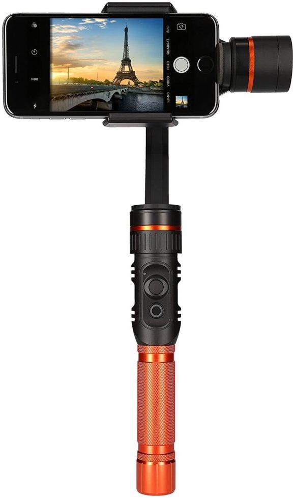 Rollei Profi Smartphone Gimbal Test Stabilisator