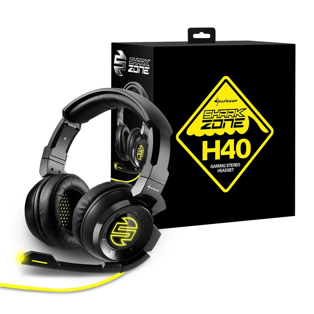 Sharkoon Shark Zone H40 Gaming Headset Stereo