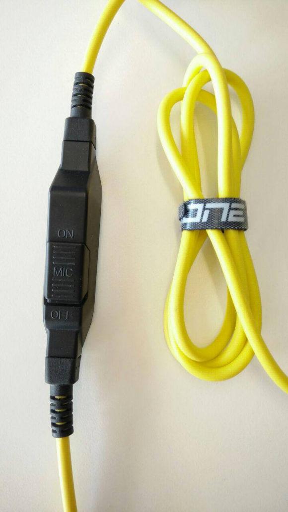 Die Steuerung des H40 Headsets