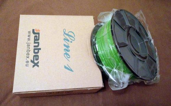 Janbex Filament PLA Test Druckermaterial