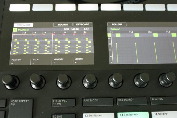 Maschine Mk3 Arranger und Mixer Modus