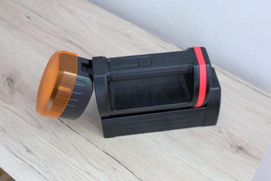 Ansmann Taschenlampe Handscheinwerfer 5200mAH