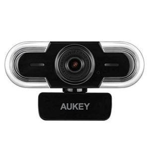 Optisch schön, funktional und hochwertig: die Aukey 2K Webcam.