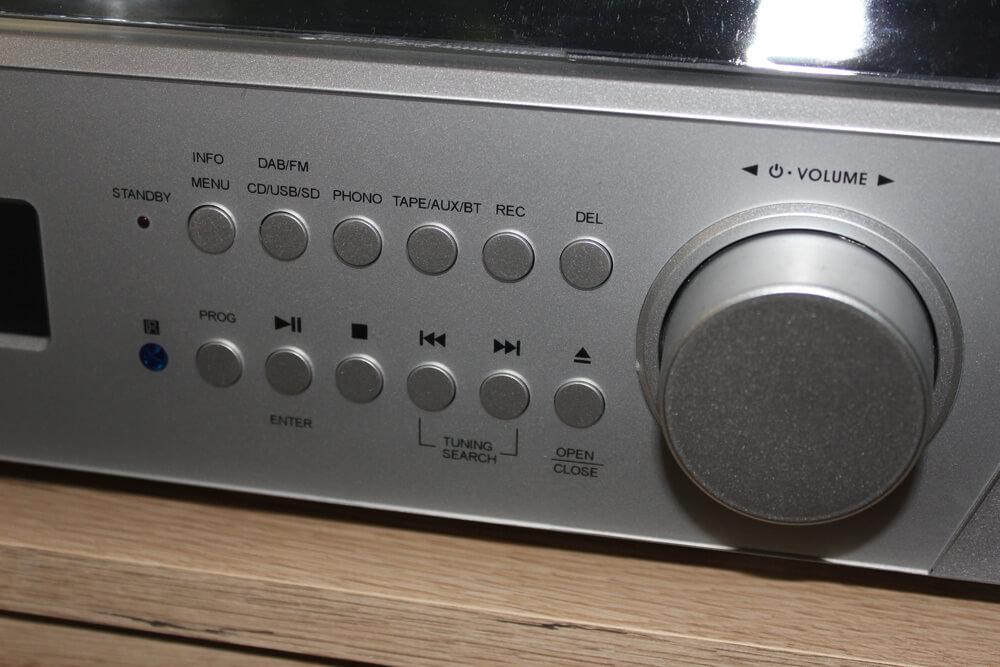 Viele Möglichkeiten, aber einfache Bedienung zeichnen die auvisio Musikanlage aus.