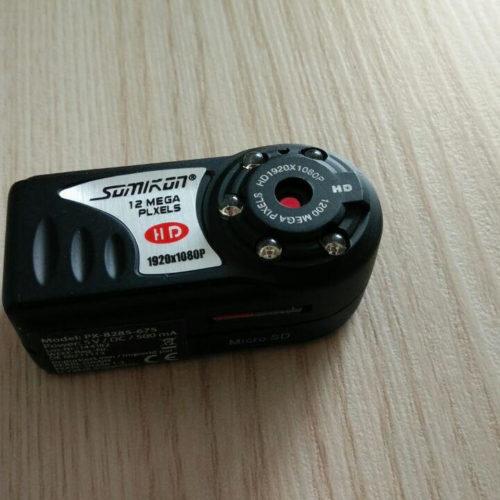 Somikon Mini-Kamera mit HD-Videoaufnahme und Infrarot-Nachtsicht