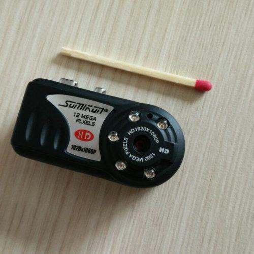 Somikon Mini-Kamera mit HD-Aufnahme und IR-Nachtsicht
