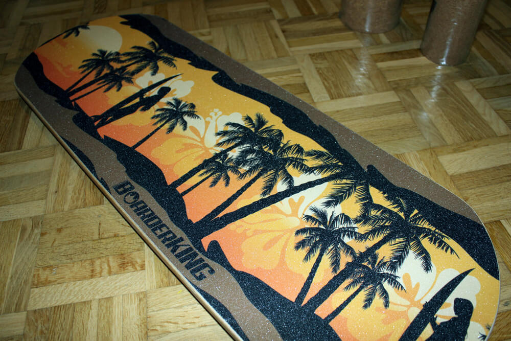 Das Hawaii Classic Set konnte im Indoorboard Test voll punkten.