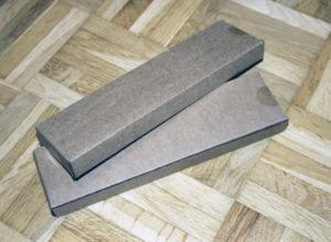 Die originalverpackten Trinkhalme aus Bambus.