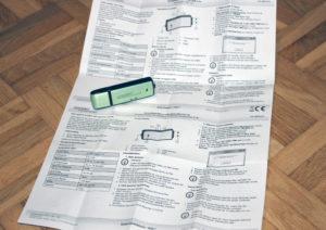 Eine ausführliche Beschreibung liegt bei, ist aber für die Verwendung des USB-Recorders nicht nötig.