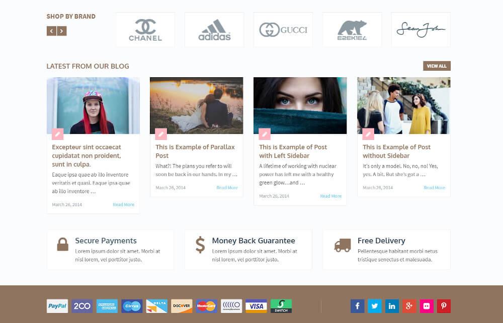 Das WP eCommerce Theme bietet wirklich alles, was man für einen Webshop benötigt.