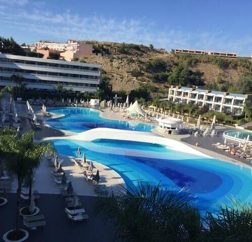 Ein wunderschönes Hotel inkl. blauer Lagune