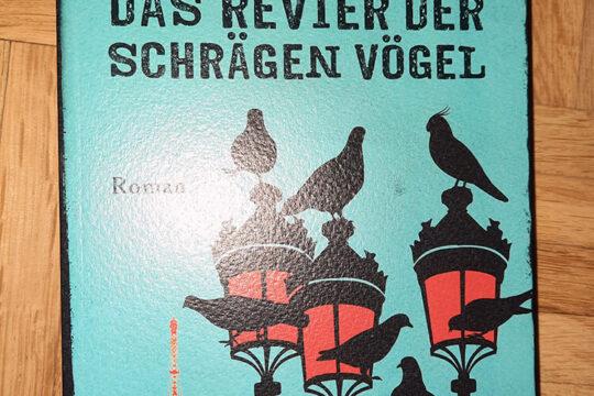 Der Roman von Sophie Hénaff - Das Revier der schrägen Vögel sieht auch optisch etwas schräg aus.