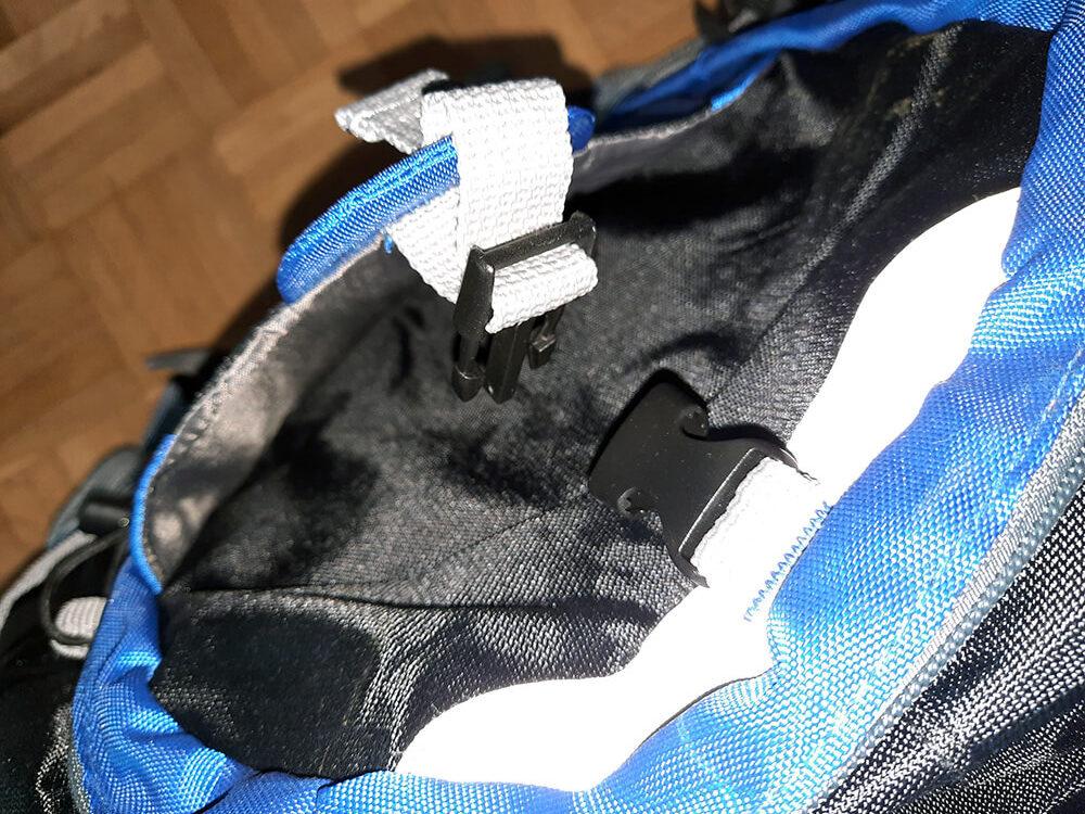 Die Taschen sind gut gefüttert und durchdacht angeordnet.