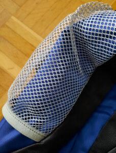 Die Materialien des Sportastisch Rucksacks sind sehr hochwertig.