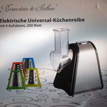 Rosenstein & Söhne Küchenreibe Test
