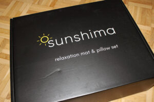 So kommt das Sunshima Akupressur-Set nach Bestellung an.